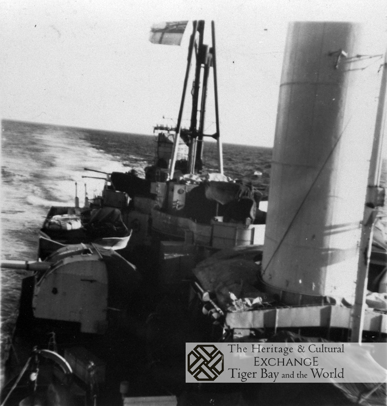 Stern view HMS Jamaica photo