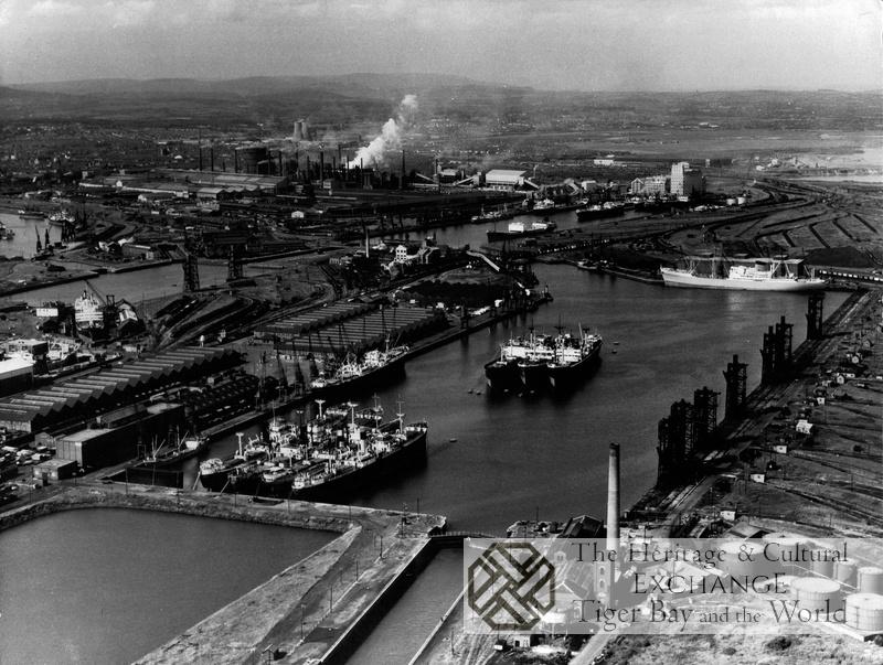 Aerial Photo of Queen Alexandra Dock
