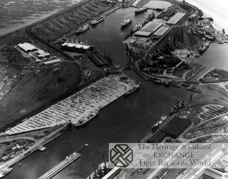 Aerial Photo of Roath and Queen Alexandra Docks