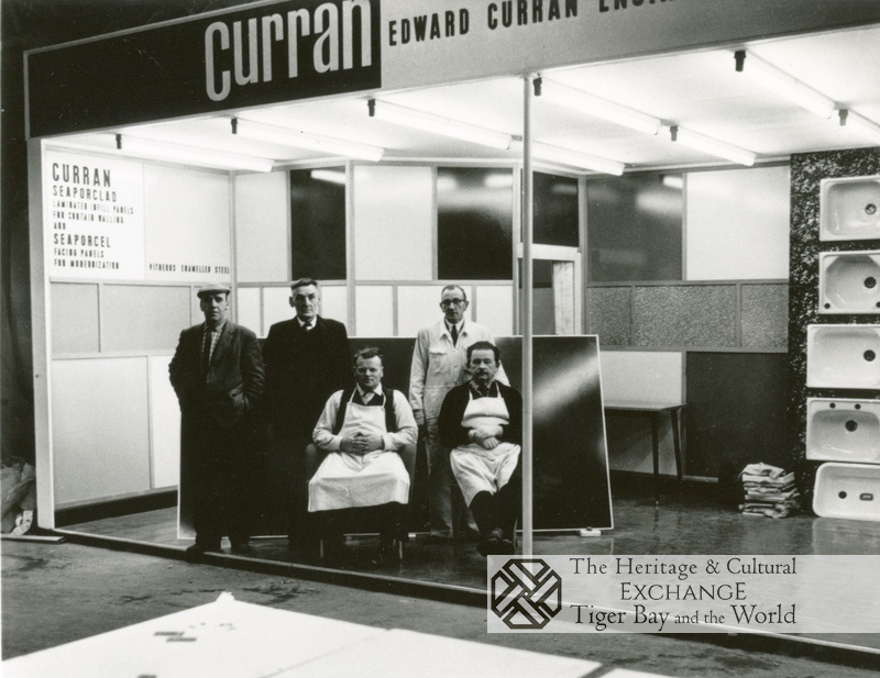 5 Men at Curran factory