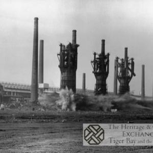 Photo of Demolition of East Moors Steelworks (1)