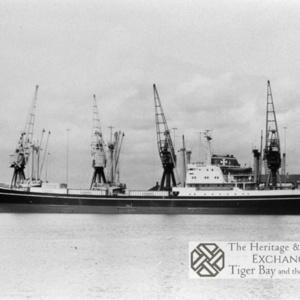 Photo of MV Louise Bornhoften