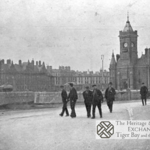 Workers in Cardiff Docks
