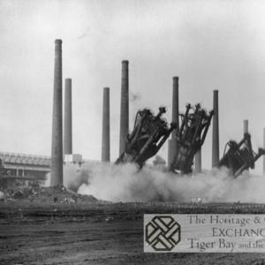 Photo of Demolition of East Moors Steelworks (2)