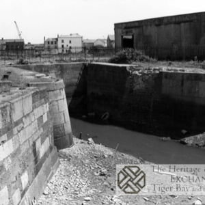 Photo of sea lock on canal