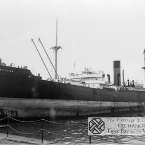 Photo of SS Mountpark entering port