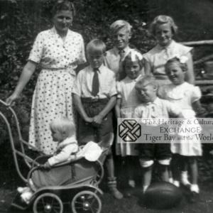 Photo of the Johnson family