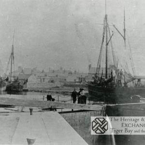 Photo of Sea Lock basin on canal