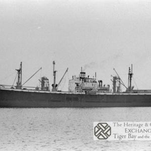 Photo of SS Sandsend alongside in Cardiff