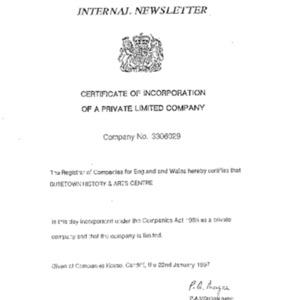 BHAC Internal Newsletter No 13