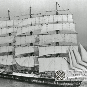 Photo of 4 masted Barque Pamir