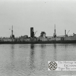 Photo of unidentified steamship