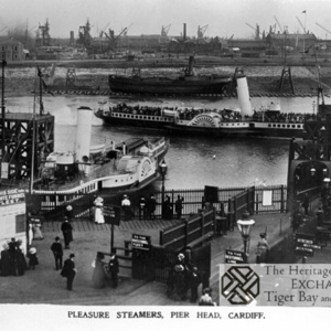 Photo of Paddle Steamers at Pier Head