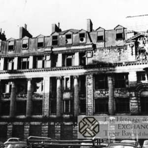 Photo of derelict Imperial Buildings
