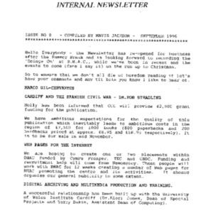 BHAC Internal Newsletter No 8